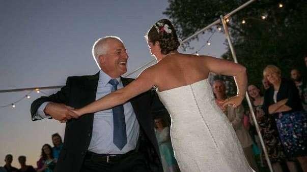 Dad gets a dance